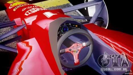 Ferrari Formula 1 para GTA 4 vista direita