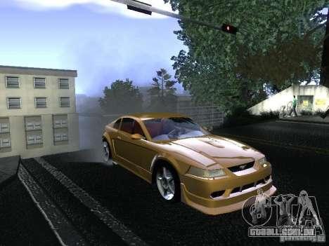 Ford Mustang SVT Cobra para GTA San Andreas vista direita