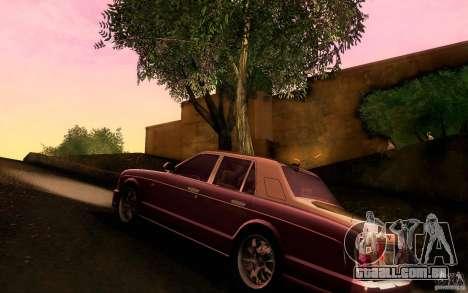 Bentley Arnage R 2005 para GTA San Andreas traseira esquerda vista