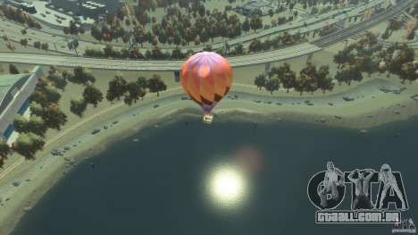 Balloon Tours option 1 para GTA 4 traseira esquerda vista