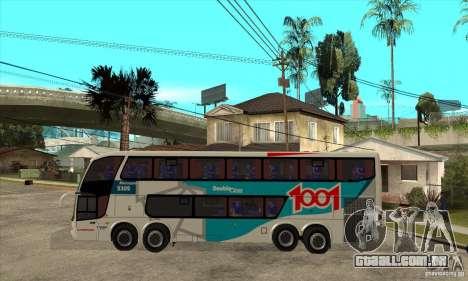 Marcopolo Paradiso 1800 G6 8x2 para GTA San Andreas esquerda vista