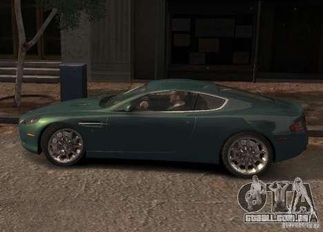 Aston Martin DB9 2008 v 1.0 para GTA 4 motor