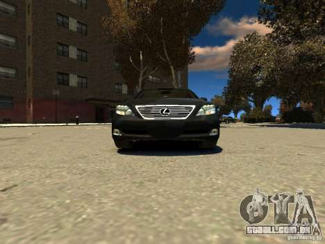 Lexus LS600 V2.0 para GTA 4 vista direita