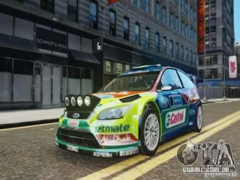 Ford Focus RS WRC para GTA 4