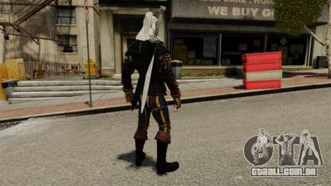 Geralt de Rivia v3 para GTA 4 terceira tela