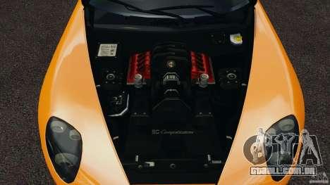 Alfa Romeo 8C Competizione para GTA 4 vista lateral