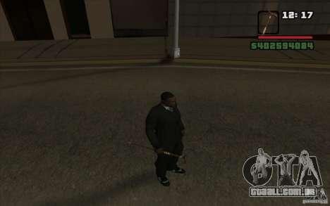 Cana-de-Nova para GTA San Andreas quinto tela