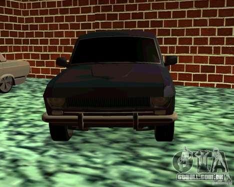 GÁS 24 v3 para GTA San Andreas vista traseira