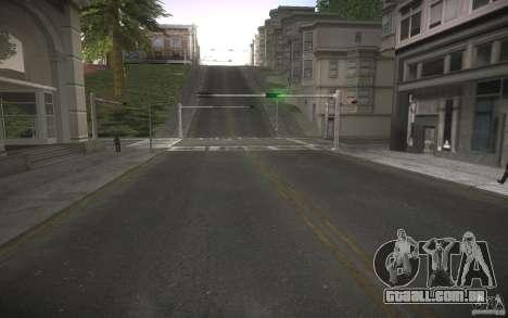 Estrada de HD v 2.0 Final para GTA San Andreas