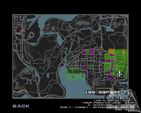 Maplist de GTA IV para GTA San Andreas