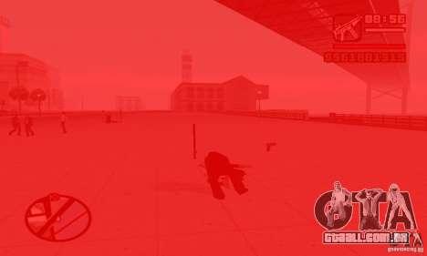 Reencarnação em um morador da cidade para GTA San Andreas por diante tela