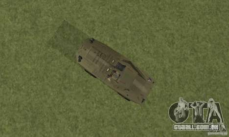 BRDM-1 pele 2 para GTA San Andreas vista traseira