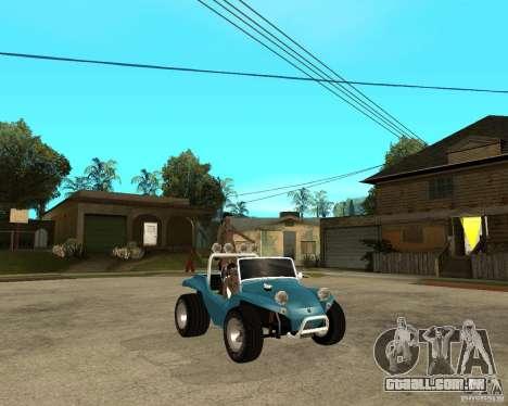 Volkswagen Dune Buggy para GTA San Andreas vista direita