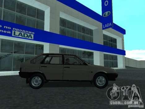VAZ 2109 CR v. 2 para GTA San Andreas esquerda vista