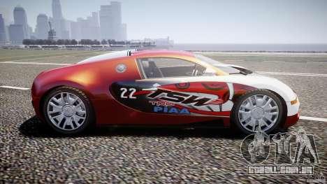 Bugatti Veyron 16.4 v1 para GTA 4 esquerda vista