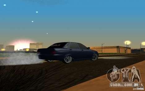 LADA PRIORA carro tuning para GTA San Andreas vista direita