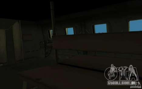 MI-24A para GTA San Andreas vista interior