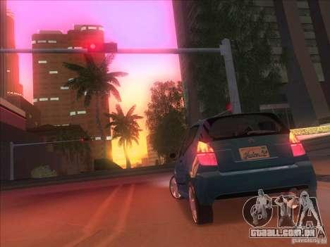 Citroen C2 para GTA San Andreas traseira esquerda vista