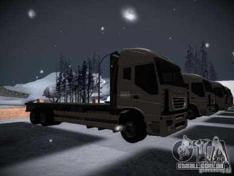 Iveco Stralis Long Truck para GTA San Andreas vista direita