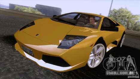 Lamborghini Murcielago LP640 2006 V1.0 para GTA San Andreas