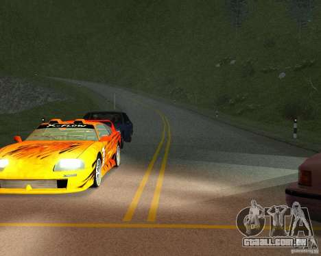 Novas estradas em San Fierro para GTA San Andreas sétima tela
