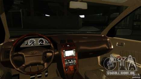 Infiniti I30 A32 Kouki para GTA San Andreas vista interior