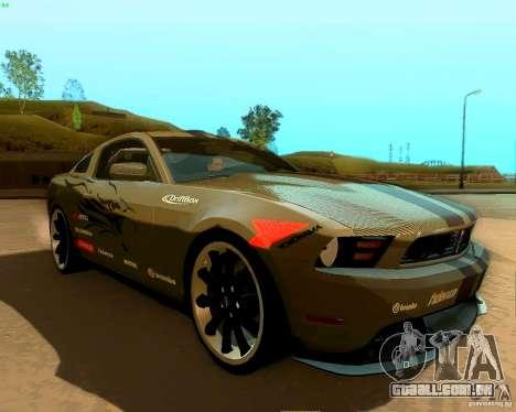Ford Mustang Boss 302 2011 para o motor de GTA San Andreas