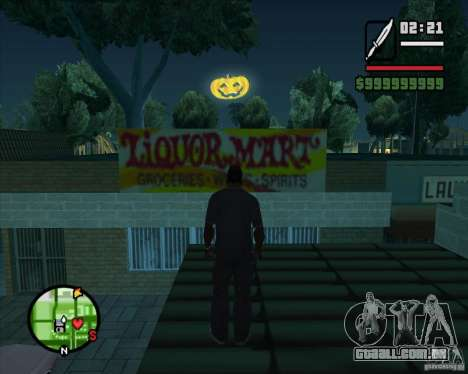Happy Halloween Mod para GTA San Andreas terceira tela