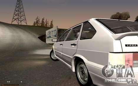 ВАЗ 2114 qualidade para GTA San Andreas esquerda vista