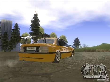 Mazda 626 DRIFT para GTA San Andreas traseira esquerda vista