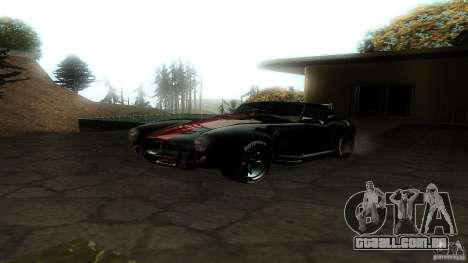 Shelby Cobra Dezent Tuning para GTA San Andreas