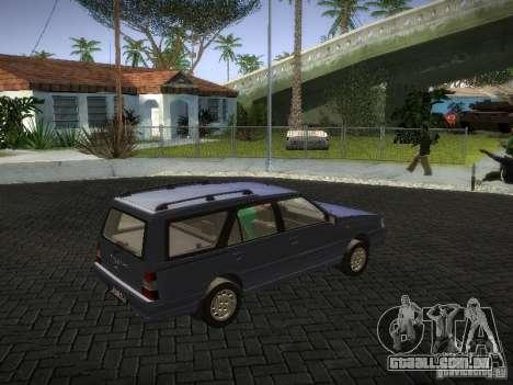 Daewoo FSO Polonez Kombi 1.6 2000 para GTA San Andreas vista direita