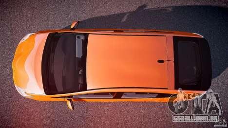 Toyota Prius 2011 para GTA 4 vista direita