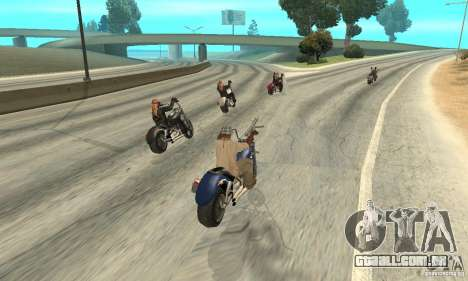 BikersInSa (os motociclistas em SAN ANDREAS) para GTA San Andreas sexta tela