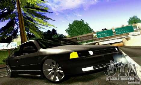 Volkswagen GOL G2 Tuning para GTA San Andreas vista interior