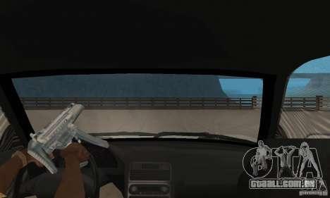 Acura NSX 1991 para GTA San Andreas vista traseira