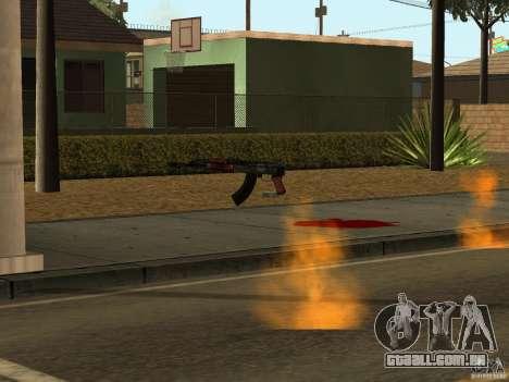 Armas nacional-versão 1.5 para GTA San Andreas oitavo tela