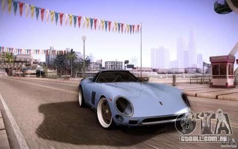 Ferrari 250 GTO 1964 para GTA San Andreas vista interior