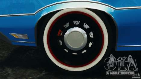Oldsmobile Vista Cruiser 1972 Police v1.0 [ELS] para GTA 4 interior