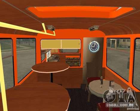 LIAZ-677 (momento de Café) para GTA San Andreas esquerda vista