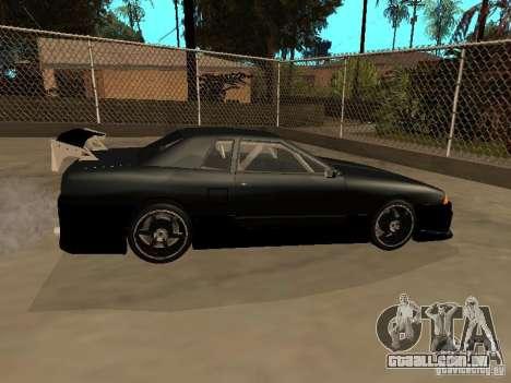New Tuning Kits for Elegy para GTA San Andreas traseira esquerda vista
