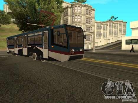 O novo bonde para GTA San Andreas terceira tela