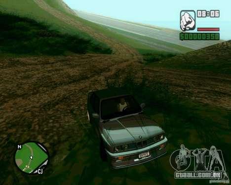 BMW M3 E30 Sport Evolution para GTA San Andreas vista direita