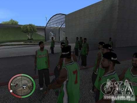As pessoas da chuva para GTA San Andreas segunda tela