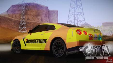 Nissan GTR R35 Tunable v2 para GTA San Andreas vista direita