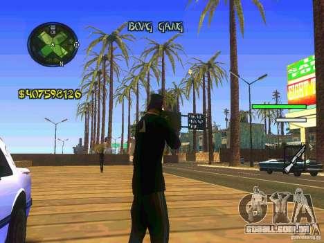 HUD Convenient and easy BETA para GTA San Andreas segunda tela