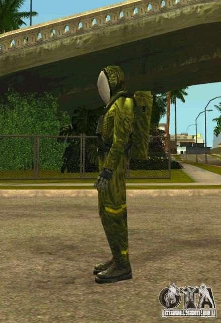 Peles de STALKER para GTA San Andreas segunda tela