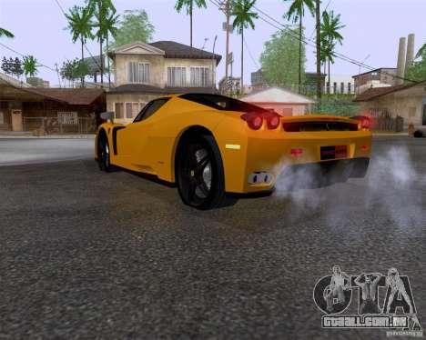 Ferrari Enzo para GTA San Andreas esquerda vista