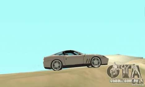 Ferrari F575 para GTA San Andreas vista direita