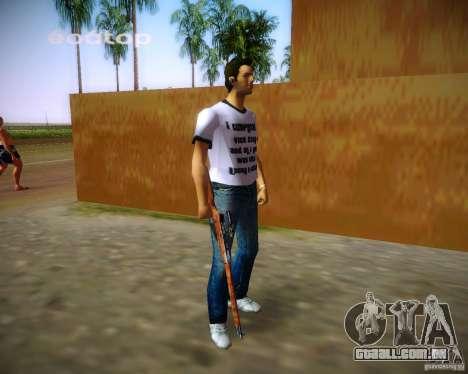 Mosin-Nagant para GTA Vice City quinto tela